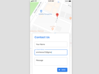 Contact Us — Daily UI Challenge #028