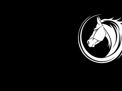 Horse Wallpaper vector illustration design logo