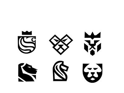 Lion Logo branding illustrator icon vector design logo illustration