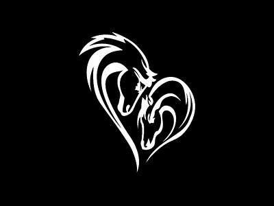 Horse 💓 vector logo illustrator illustration icon design branding