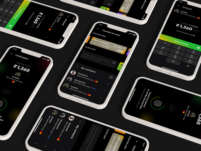 Expanse Tracker App illustrator flat figma adobe xd design graphic design icon logo app ux ui