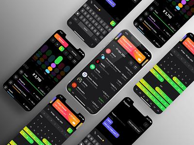 Expanse Tracker App graphic design design art illustrator illustration app icon logo ux ui