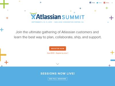 Atlassian Summit 2014 Site