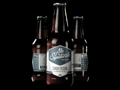 Ale Syndicate Label Design