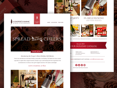Cooper S Hawk Winery   Restaurant Holiday Campaign