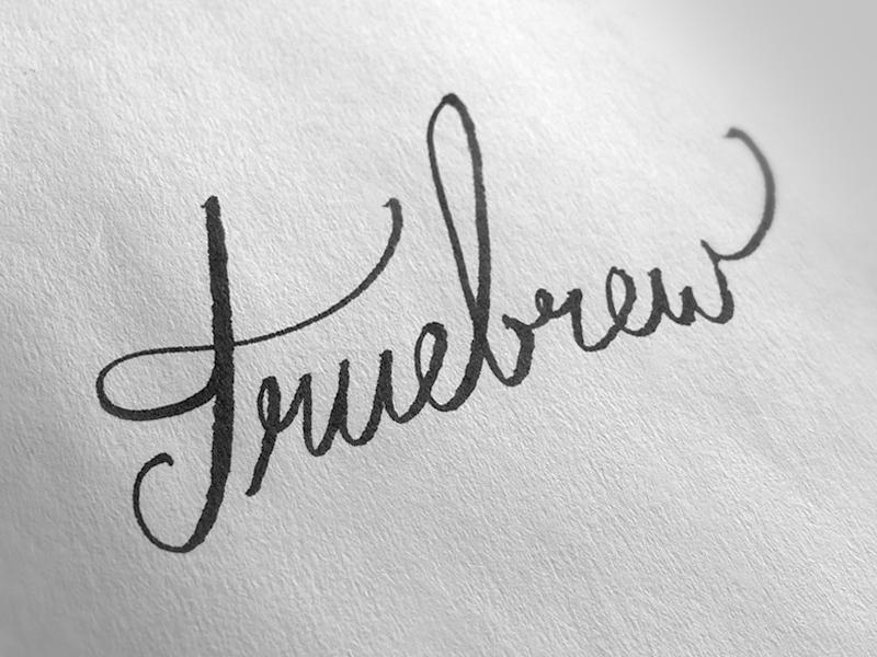 Truebrew sketch 2