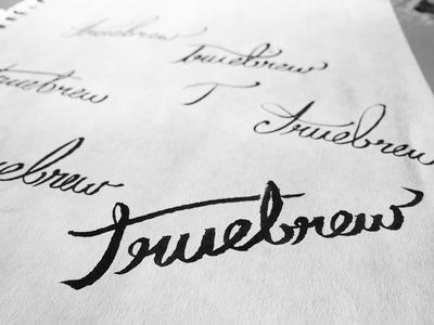 Truebrew Sketch 1