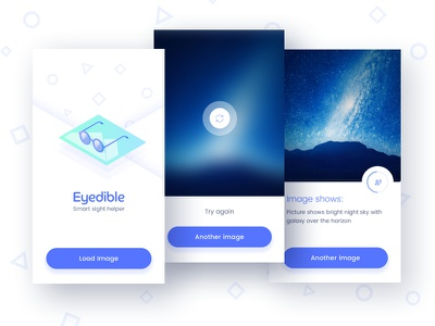 Eyedible application mobile ios ux ui app