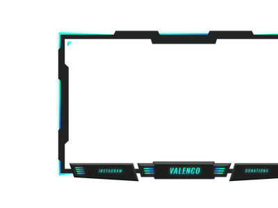 Facecam Overlay mascotlogo logo twitch logo facecam mascot design animation