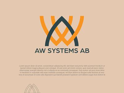 AWSAB vector illustration logo office design brand design logo design branding logo branding logodesign graphic design logo design