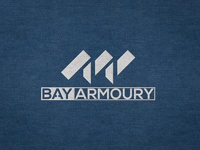 Bay Armoury illustration vector office design brand design logo design branding logo branding logodesign logo graphic design logo design