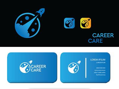 Career Care for Space ui illustration design brand design logo design branding logo branding logodesign logo graphic design logo design