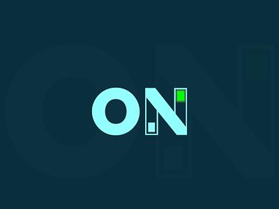 ON Logo Concept modern logo ui illustration design brand design logo design branding logo branding logo logodesign graphic design logo design on logo concept on logo on