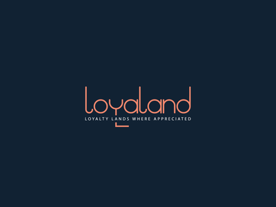 Loyaland Logo loyal logo l logo land logo ui illustration design brand design logo design branding logo branding logodesign logo graphic design logo design