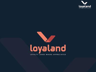 Loyaland Logo Design latte rl l logo design concept l logo l ui illustration design brand design logo design branding logo logo branding logodesign graphic design logo design