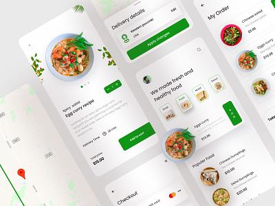 Food delivery app food app ui best food good food app design app minimal app minimal food delivery app food delivery mobile app food app