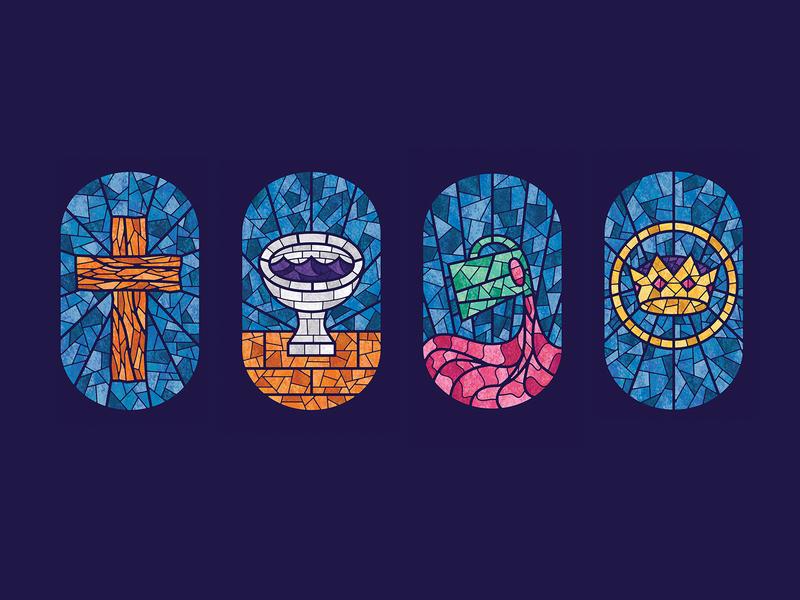 Fourfold gospel stained glass fourfold cmacan alliance