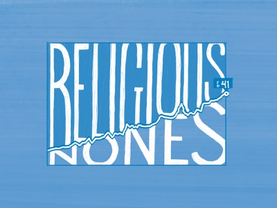 Religious Nones cmacan alliance magazine illustration typography hand lettering lettering