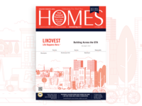 Homes Magazine for Lindvest