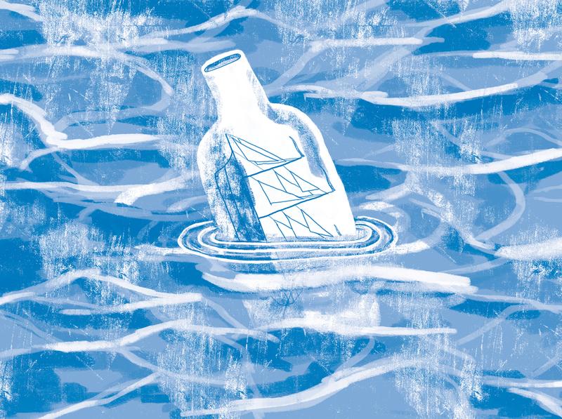 Ocean Bottle illustration