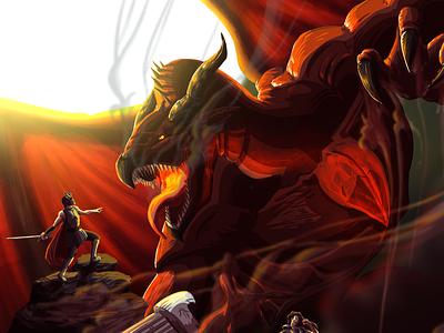 Dragons Dogma (Fanart) gaming fantasy art fantasyart fanart illustration concept art