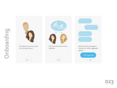 Daily UI 023  - Onboarding illustrator ui daily ui challenge daily ui daily ui 023 onboarding illustration onboarding ui onboarding