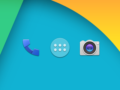 Android 4.4 Kitkat Icon Copy