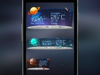 Unknow Planet Weather Widget