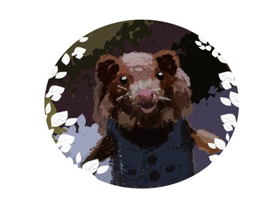 Portrait of the felted toy cute art cute illustration cute animal cute toy toy story toys felted felt digital draw digital drawing digital digitalart digital illustration digital painting digital art adobe photoshop adobe photoshop raster