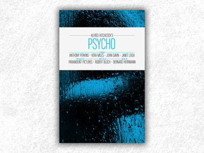 Psycho (Hitchcock movie poster) psycho hitchcock movie poster film poster movie design print poster