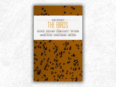 The Birds (Hitchcock movie poster) the birds movie the birds hitchcock movie poster film poster movie design print poster