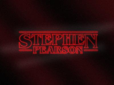 Stranger Things Titles credits titles classic king stephen font bengulat typography things stranger retro 80s