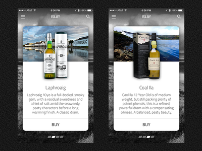 Whisky App malt single catalogue buy ila coal laphroaig islay whisky ios