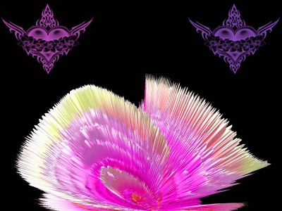 Beautiful Pink Flower flower psychedelic design photoshop graphicdesign graphicart