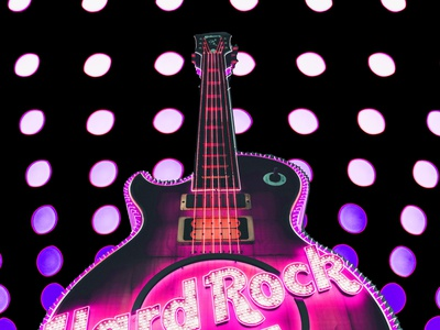 Hard Rock Cafe hard rock cafe collage psychedelic design photoshop graphicdesign graphicart