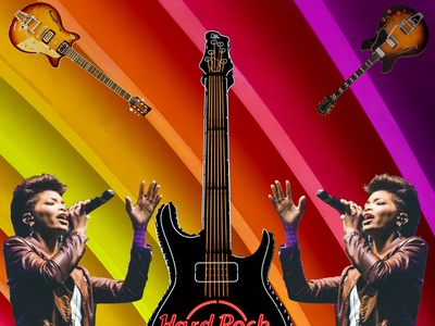 Love Music rock and roll music psychedelic collage design photoshop graphicdesign graphicart