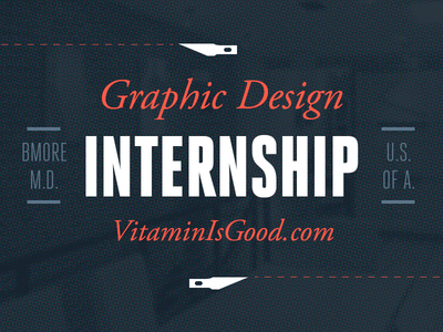 Graphic design internships  We're Looking for a Graphic Design Intern! by Douglas Hucker ...