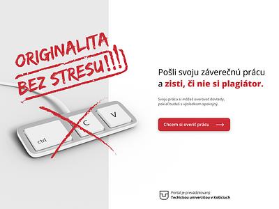 Plagiarism checker plagiarism web keyboard landingpage originality check originality copy paste