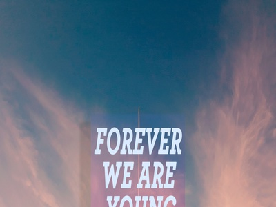 """BTS """"Young Forever"""" design typography"""