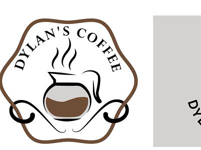 Coffee Shop Logo typography branding logo design
