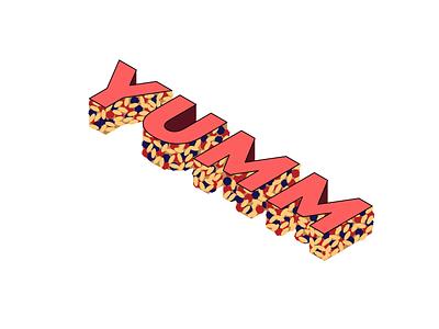 Granola Logo typography branding logo design