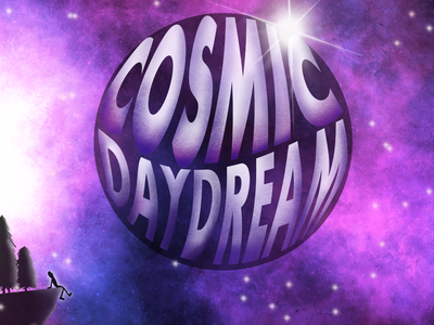Album Art - Cosmic Daydream artistic artist graphic design illustration procreate logo digital illustration digitalart design art