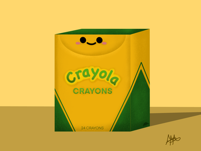 Crayon Box artistic chibi procreate illustration graphic design digital illustration logo digitalart design art