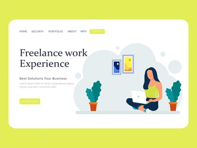 Freelance work illustration graphic design vector illustration vector ux ui typography painter logotype landing page ui landing page illustrator illustration art illustration flat vector digital concept character design business character branding art