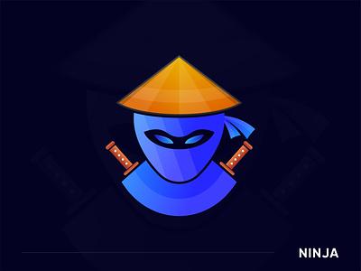 Mascot logo for Ninja logo abstract modern lettermark icon app letter logo logo mark logodesign modern logo logo designer illustration branding agency gfxhouse branding logotype mascot character