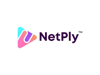 N letter logo for NetPly short video maker play app icon brand and identity branding agency branding logo design branding business identity lettering logo letter logo logodesigns logodesign logo logotype minimal modern n letter logo n logo mark