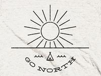 GO NORTH on Cotton Bureau