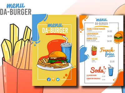 Restaurant Menu trifold menu menu modern menu restaurant logo fast food menu food menu