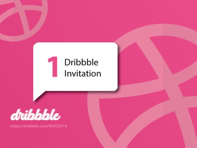 Invitation dribbble invite dribbble