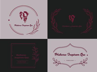Parlour Logo salon logo salon parlour logo parlour logodesign logo